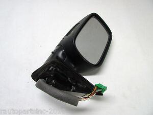 01 Volvo V70 Xc Porte Miroir Conducteur Gauche Noir Mat 8650141 Oem 02 03 04