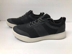 london fog men's casual shoes southampton black/white size