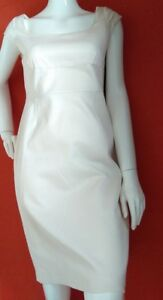 COAST-ivory-shift-dress-size-14-USED-ONCE-knee-length-cap-sleeve-lined