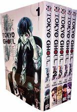 Tokyo Ghoul Volume 1-5 Collection 5 Books Set Children Manga Books Series 1 NEW