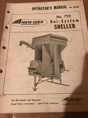 Collectibles New Idea 729A Sheller For Uni System Operator's ...