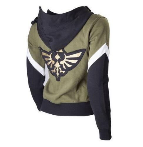 The Legend Of Zelda Coat Cosplay Hyrule Hoodie Jacket Coat Sweatshirt