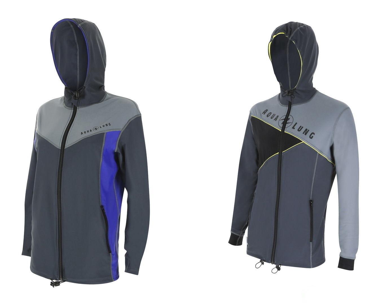 Aqualung Rash Guard Jacket  Jacke mit Kaputze  Top  UV Shirt  DaSie Herren