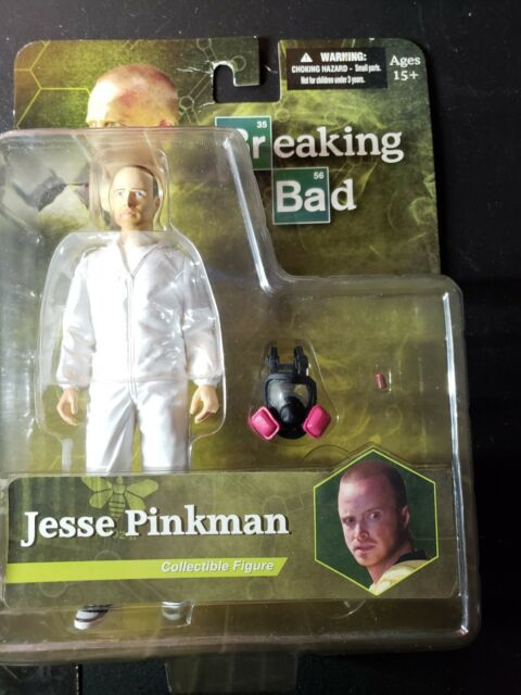 """New 6/"""" Breaking Bad Walter White Hazmat Suit collect Figure movies toy kit gift"""