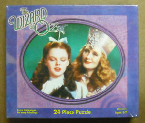 LOT-OF-2-DIFFERENT-PRESSMAN-24-PC-WIZARD-OF-OZ-PUZZLE-NEW-ZPRE-4031