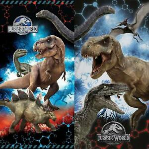 Official-Jurassic-World-Fallen-Kingdom-Cotton-Beach-Bath-Towels-Raptor-T-Rex