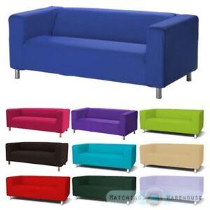 Details zu Husse für Klippan 2 Sitzer Sofa Sofa Hülle Zweisitzer  Baumwolltwill