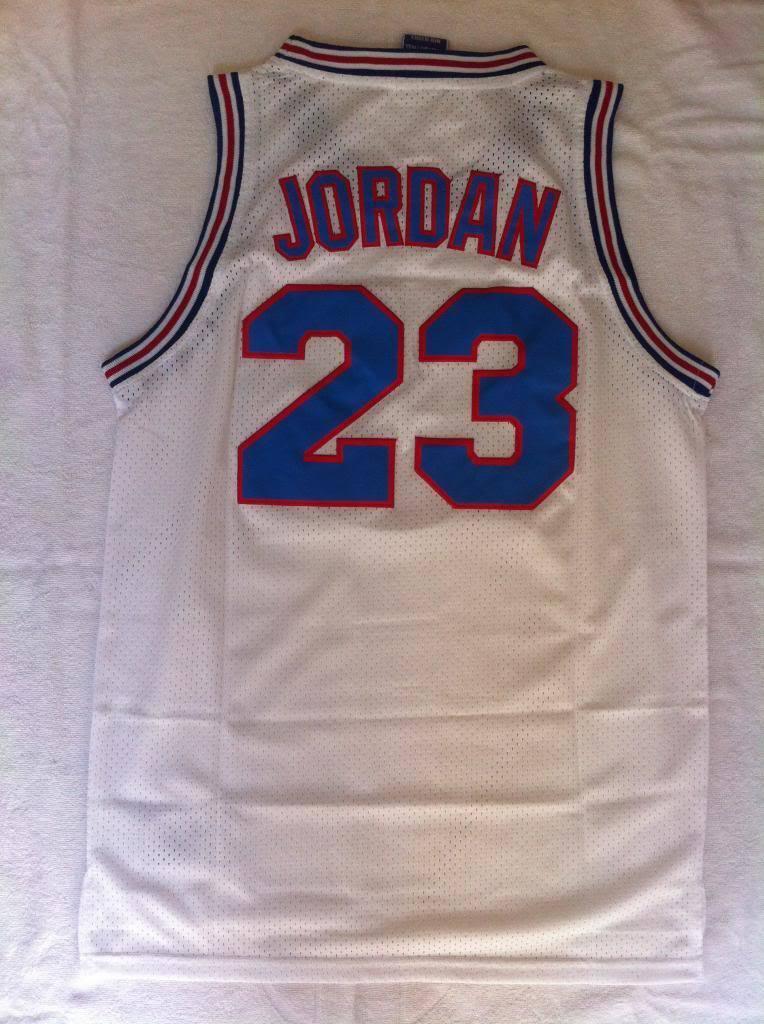 Camiseta de triantes nba basket Space Jam Tunesquad jersey jersey jersey Michael Jordan bulls a341fe