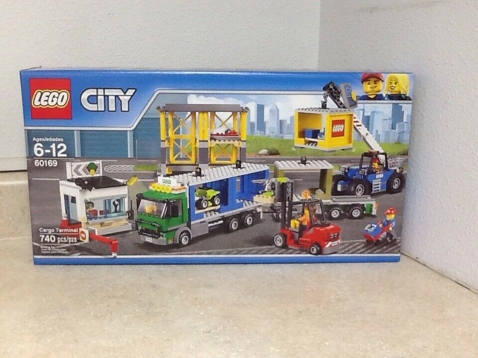 Lego City Cargo treminal 60169