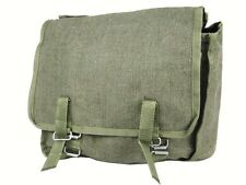OFFICIAL POLISH MILITARY HAVERSACK / BREAD BAG army surplus satchel Olive canvas
