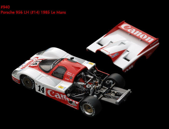 Porsche 956 Lh Lm 1985 1 1 1 43 Model 0940 HPI RACING ea1dd7