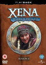 DVD:XENA - WARRIOR PRINCESS - SEASON 4 - NEW Region 2 UK