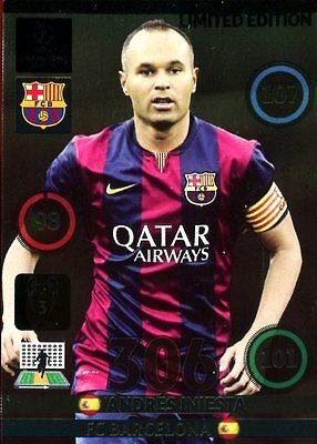 Panini Adrenalyn XL Champions League 2014/2015 *Limited Edition aussuchen* 14 15