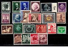 Deutsches Reich,Lot  mit 760-761, 818,819,820-822,869-872 usw postfrisch s. Scan