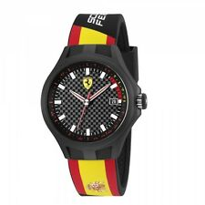 NEW SCUDERIA FERRARI 0830130 MENS PIT CREW WATCH - 2 YEARS WARRANTY