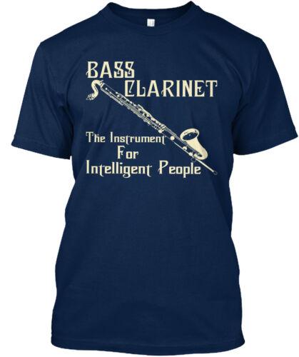 S-5XL Long-lasting Bass Clarinet For Intelligent Standard Unisex T-shirt