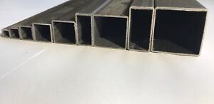 ERW-Steel-Square-Rectangle-Hollow-Tube-Pipe-10-sizes-amp-10-Lengths-available