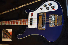 Rickenbacker 4003 Midnight Blue Electric Bass Guitar