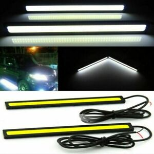 2x-Waterproof-12V-Super-Bright-COB-White-Car-LED-Lights-for-DRL-Fog-Driving-Lamp
