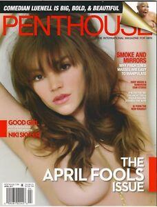 Image Is Loading Penthouse Magazine Pet Of The Month Niki Skyler