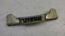 1982 Yamaha Maxim XJ750 XJ 750 Y525-2' front fork emblem trim cover