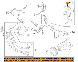 image is loading bmw-oem-11-16-535i-xdrive-power-steering-