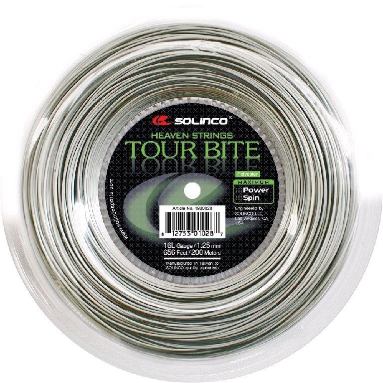 Solinco Tour Bite 1,20 mm 200 m Tennisaiten Tennis Strings