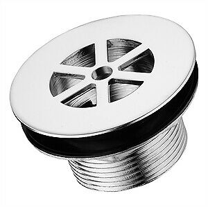 IDEAL-STANDARD-S8760AA-UNSLOTTED-STRAINER-WASTE-1-5IN-CHROME