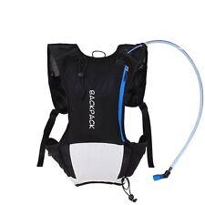 5L Bike Bicycle Shoulder Backpack For Hydration Pack Water Bag Hiking Running