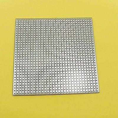 8 x 8cm Universale Saldatura Circuito Stampato Stripboard fibra di vetro 2.54mm PCB