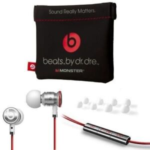 UrBeats-By-Dr-Dre-Earbuds-With-Mic-In-Ear-Beats-Headphones-W-Pouch-Ear-Gel-White