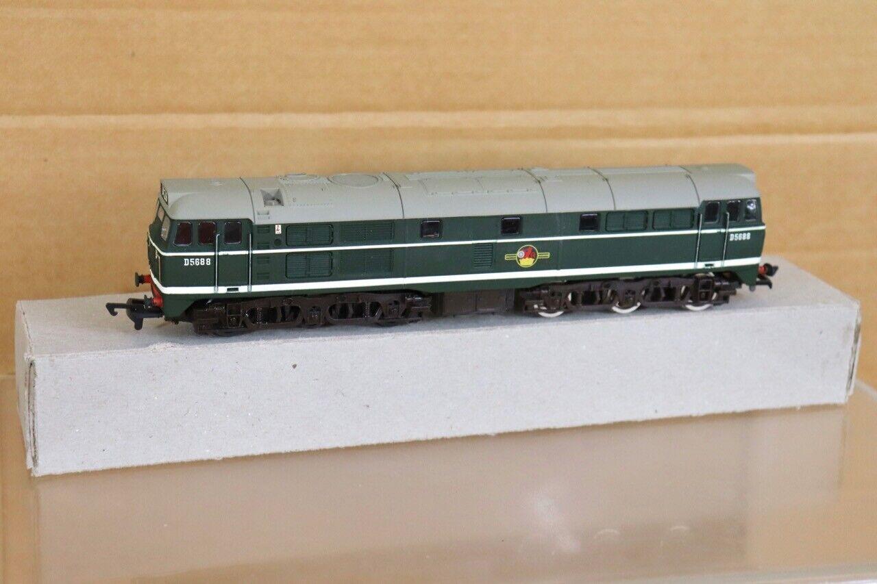Airfix Nachgearbeiteter Br Grün Klasse 31 Diesel Lokomotive D5688 NT