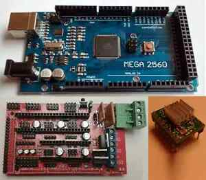 Mega 2560 3D Drucker Elektronik Set Reprap Rampen 1.4 /& A4988 Treiber