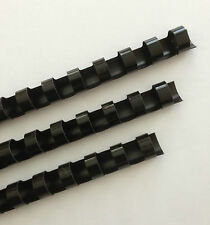 38 Plastic Binding Combs Black Set Of 25