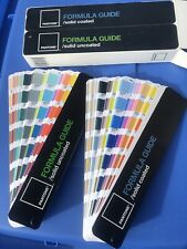 Pantone 2008 Color Formula Guide Book Chart Coated Amp Uncoated