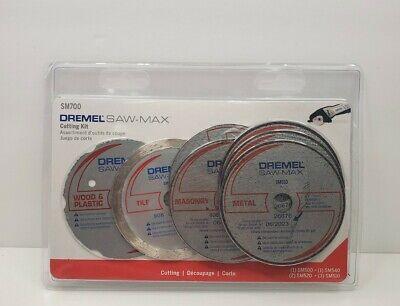 Dremel-Saw-Max Cutting Wheel Kit For Tile Wood Plastic Masonry Metal Tool Blade