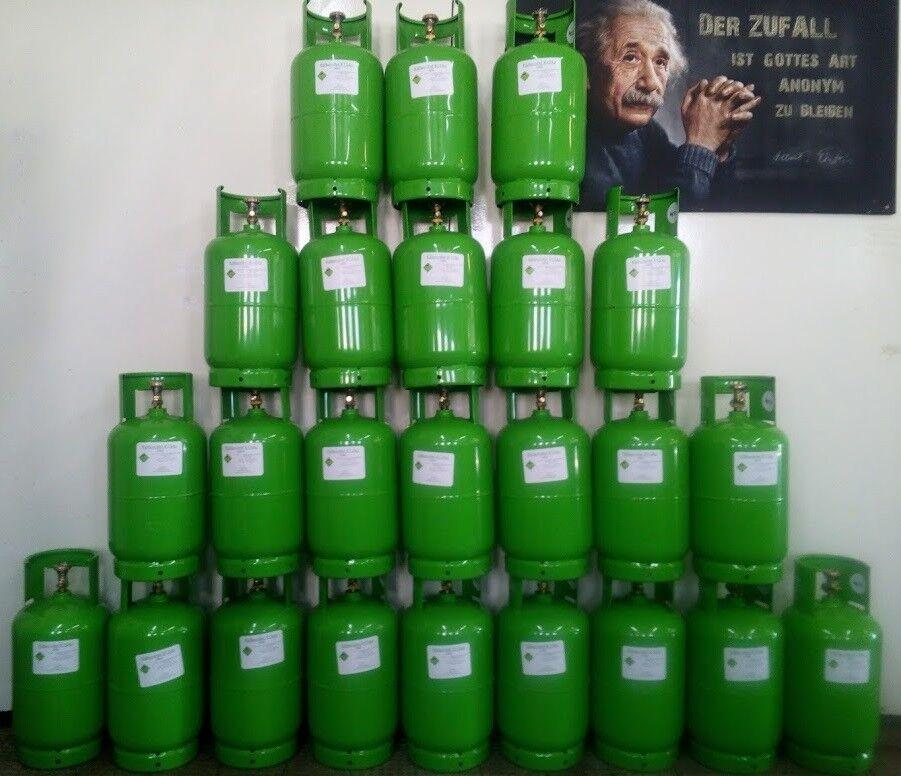 R134a Kältemittel 12KG  Flasche inkl. Pfand. Sofort verfügbar. inkl. Rechnung