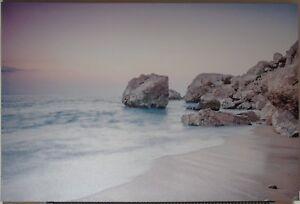 Landscape-Scene-Canvas-Beach-Scene-Wilko-90cm-x-60cm-x-2-5cm
