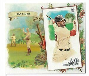2019-Allen-amp-Ginter-Baseball-Box-Loader-N43-Parallel-JD-Martinez-Boston-Red-Sox