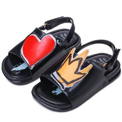 Crown & Love kids Girls Mini Melissa Shoes Sandals Toddler US 7-11 EUR 22-29