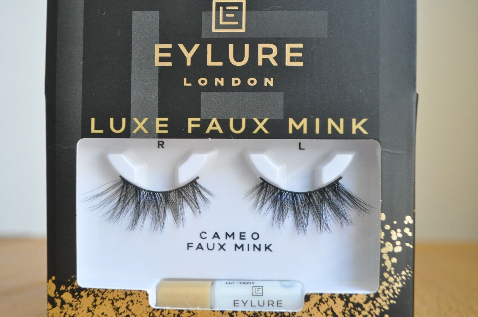 Eylure LUXE Mink Effect CAMEO False Eyelashes from Harrods - BRAND NEW