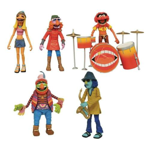Les Muppets Action Figure Box Set Band Members SDCC 2020 Exclusive