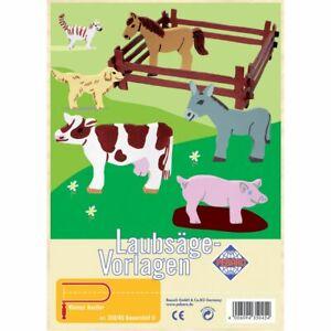 PEBARO-Laubsaegevorlage-Bauernhoftiere