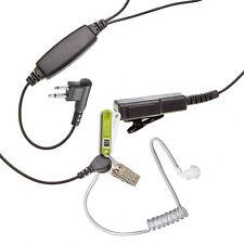 HD-LARGE PTT EARPIECE FOR 2 PIN MOTOROLA RADIO