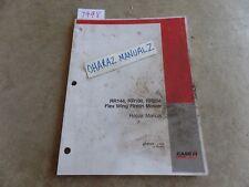 Case Rr144 Rr180 Rr204 Flex Wing Finish Mower Repair Manual 87757972