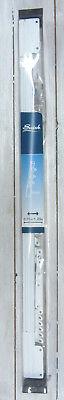 Delizioso Swish Binario Scorrevole In Acciaio 75 Cm Allungabile Fino A 120cm Colore Bianco Durevole In Uso