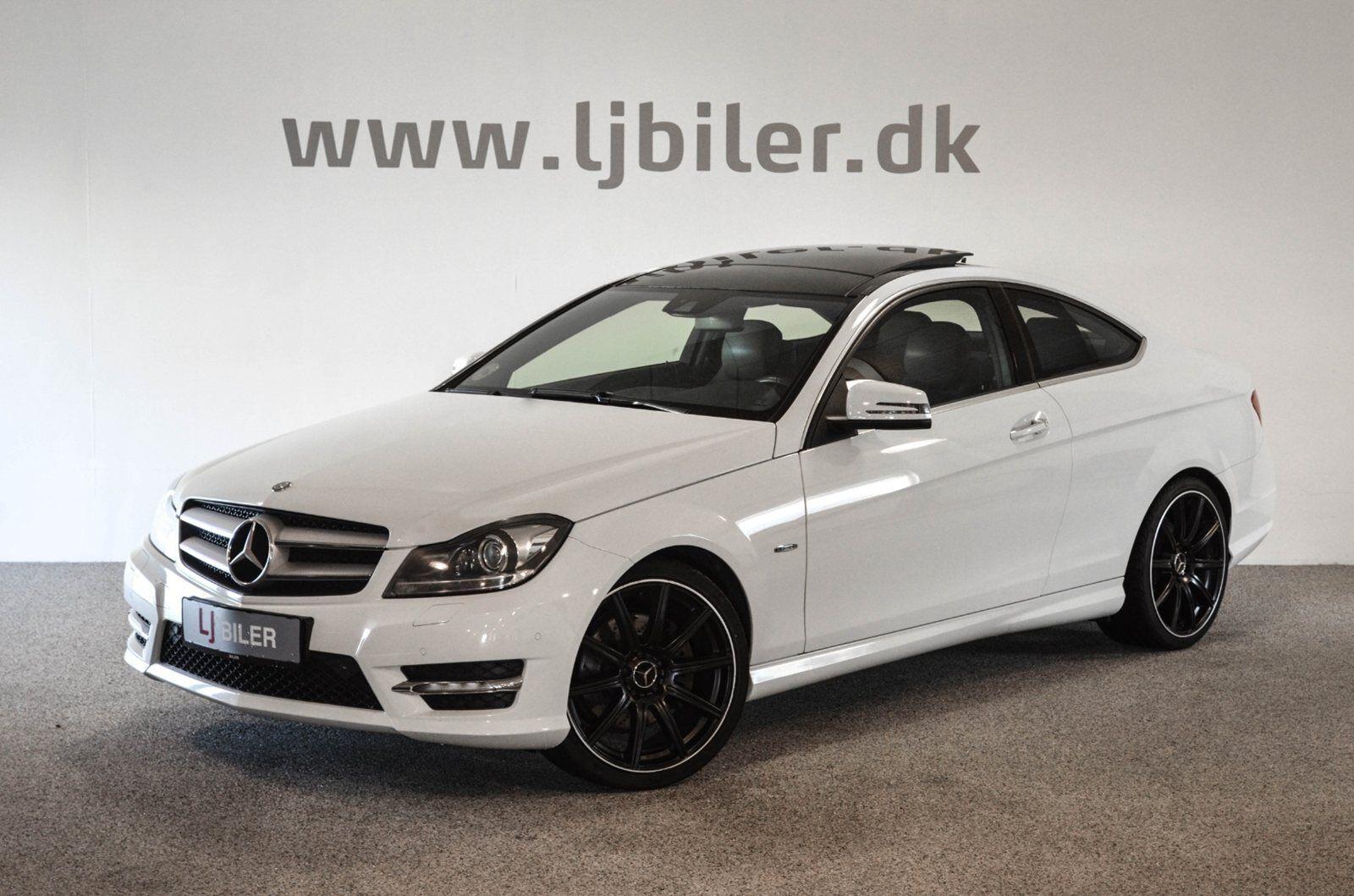 Mercedes C350 3,5 Coupé aut. BE 2d - 399.800 kr.
