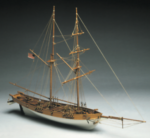Manuta Models Albatros US Coastguard Cutter Wooden Ship Kit 1 40 Scale