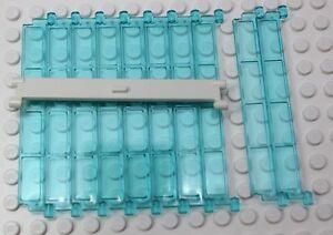 NEW-LEGO-Garage-Roller-Door-30061-Transparent-Light-Blue-4258476-Lot-of-10