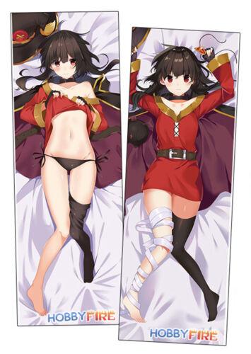 HobbyFire Anime Dakimakura Hugging Body Pillow Case Megumin ADP91057